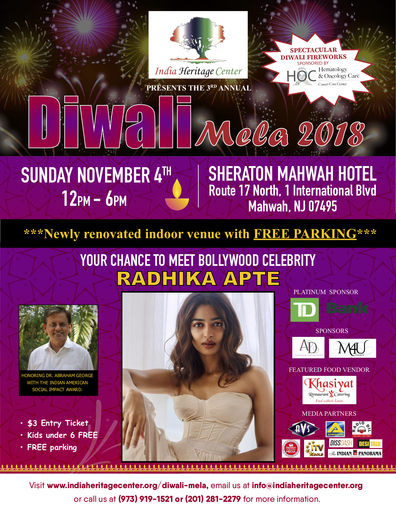 IHC Diwali Mela Oct 22nd
